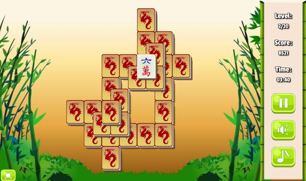 Play free mahjong No Downloads Screenshot