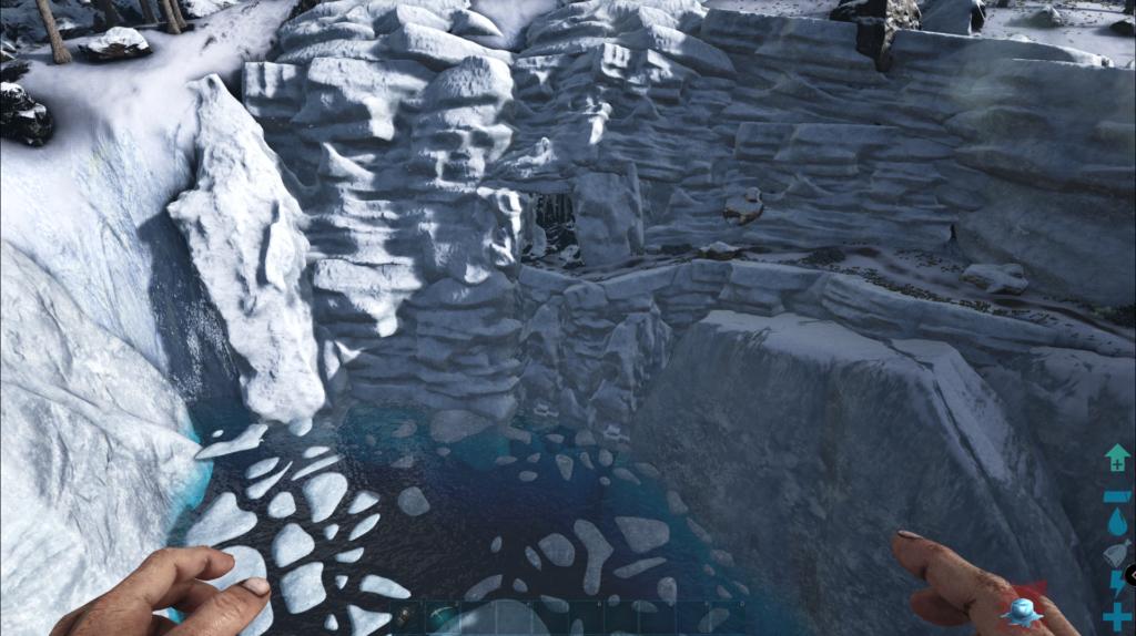 Ark Island Map Cave Locations - North West Cave Screenshot.