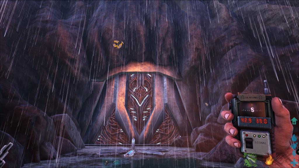 Ark Island Map Cave Locations - Tek Cave Screenshot.