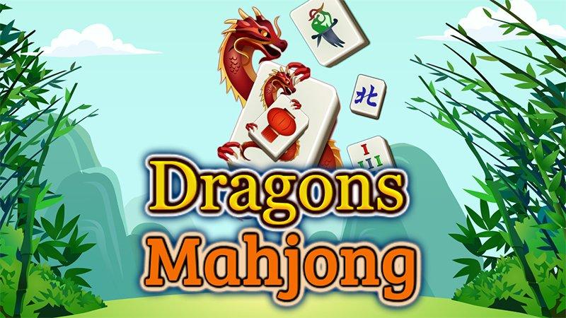 Image Play Free Mahjong No Downloads ~Dragons Mahjong